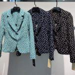 blazer estampado topitos de venta en chollomoda